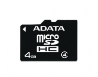 Secure digital card micro sdhc 4gb class4 adata (ausdh4gcl4-r)