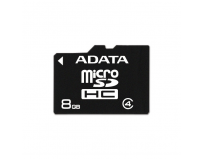 Secure digital card micro sdhc 8gb class4 adata (ausdh8gcl4-r)