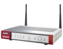 Security firewall, optional (content filtering, antispam), 5x ipsec vpn, 1 ssl, 5x 1gbps (4x lan/dmz, 1x wan, wifi 802.11n 2t2r), 1x usb, zyxel zywall usg 20w (91-009-071001b)