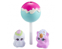 Set 3 figurine moi in acadea cake pop - scoopicorn si snowcone yeti