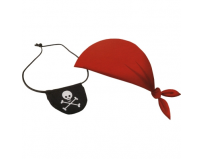 Set bandana pirati