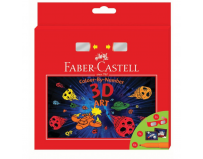 Set Cadou 6 Carioci Connector 3D Art Faber-Castell