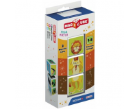Set constructie magnetic magicube Animale din Savana