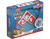 Set constructie magnetic magicube Paw Patrol Marshall, Rubble si Zuma