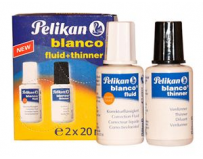 Set Fluid corector + solvent, 2x20ml, Pelikan