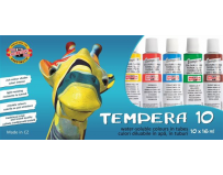 Set Tempera 10 culori, 16ml, Koh-I-Noor