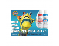 Set Tempera 6 culori, 16ml, Koh-I-Noor