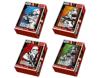 Star Wars: 54 bucati mini puzzle - Trefl