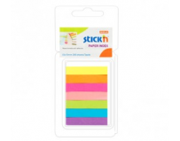 "Stick index hartie color 50 x 10 mm, 7 x 40 file/set, Stick""n - 7 culori neon"