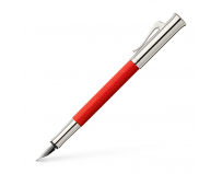Stilou Guilloche India Red Graf Von Faber-Castell