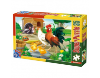 Super Puzzle 35 piese Animale D-Toys