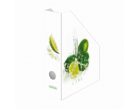 Suport dosar carton fresh fruit lime, Herlitz