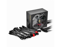 Sursa deepcool, 500w (real), fan 120mm pwm, 80 plus bronze, 85% eficienta, 2x pci-e (6+2), 5x s-ata (da500)