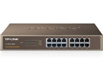 "Switch 16 porturi 10/100 tp-link tl-sf1016ds, carcasa metalica, rack 13"" 1u"