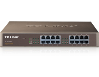 Switch 16 porturi 10/100/1000 tp-link tl-sg1016d, carcasa metalica, desktop/rack