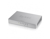 Switch gigabit 5 port-uri 10/100/1000mbps, 3 porturi qos, 802.3az green, carcasa metal, zyxel gs-105bv2-eu0101f