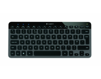 "Tastatura logitech ""k810"" bluetooth illuminated keyboard, black (920-004321)"