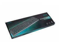 Tastatura spacer qwerty 104  keys, anti-spill, usb (spkb-s62)