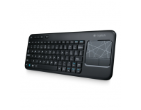 Tastatura wireless logitech touch keyboard k400, black (920-003134)