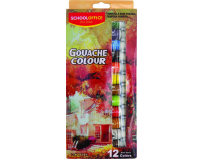 Tempera Guase 12 culori Tub 12ML