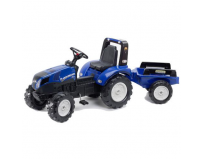 Tractor new holland cu pedale si remorca