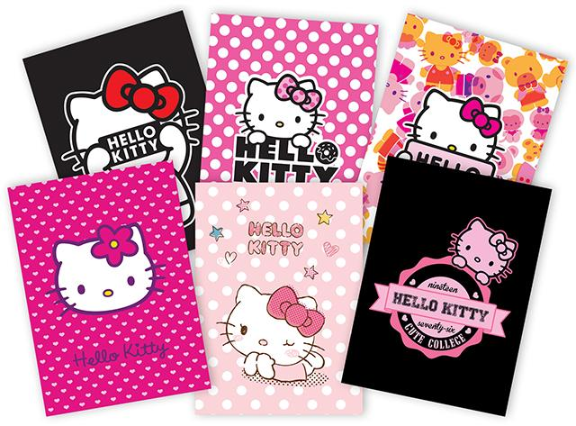 Coperti Caiete A5  Hello Kitty.