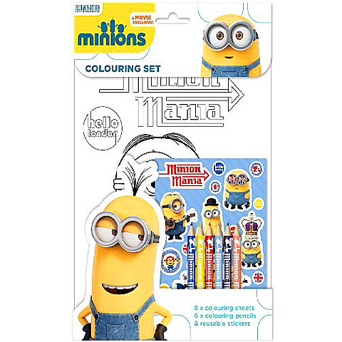 Minions Set Colorat Creativ